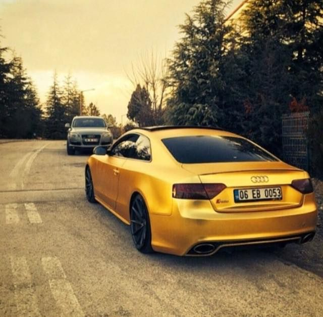 Audi RS5   Golden Boy