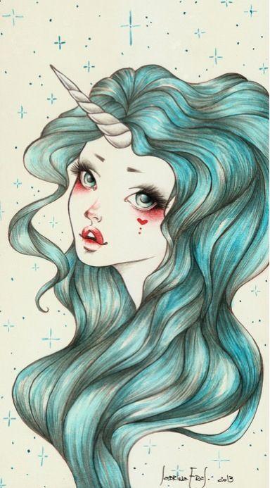 Unicorn Girl -- Sabrina Eras