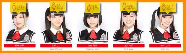 【悲報】AKBのプロフィール画像が全体的に老け顔な件