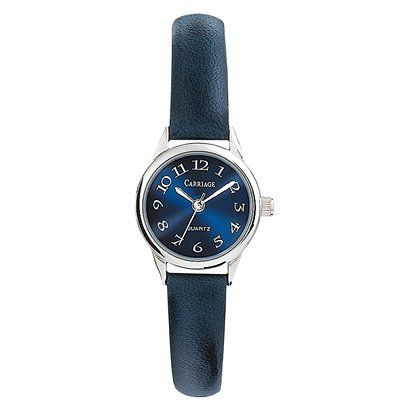 Timex Carriage Silver tone & Dk Blue Strap $19.99 Target