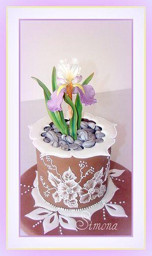 Edible Art, beautiful cake   Cakes - Taarten