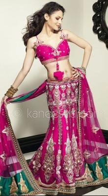 Mesmerizing Pink Lehenga Choli Indian wedding outfit