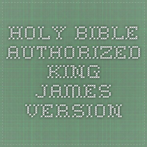 9 best kjv bible images on pinterest bible scriptures bible and holy bible authorized king james version fandeluxe Images