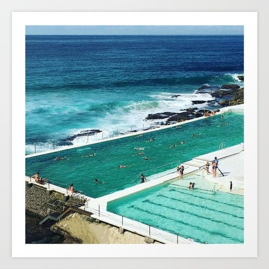 Bondi living Art Print