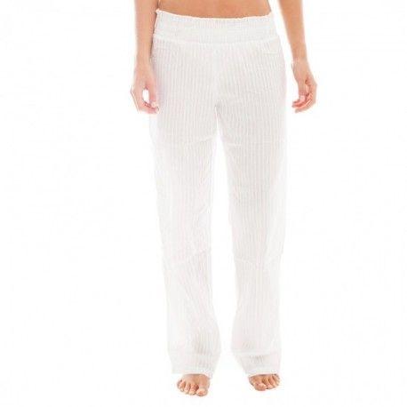 Pijama Pants - White