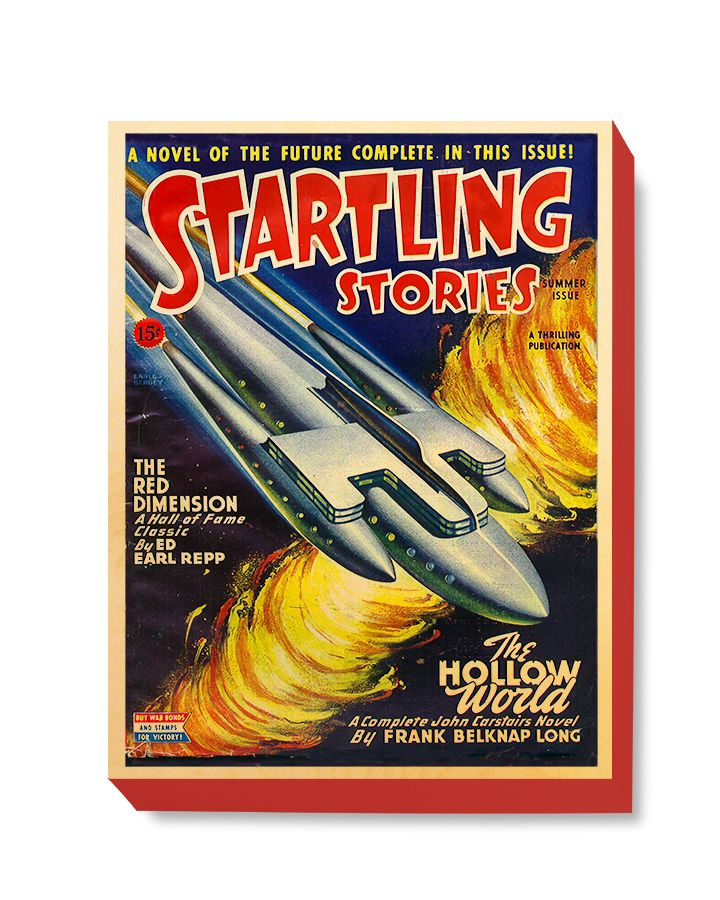 SFI 034 Startling Stories The Hollow World