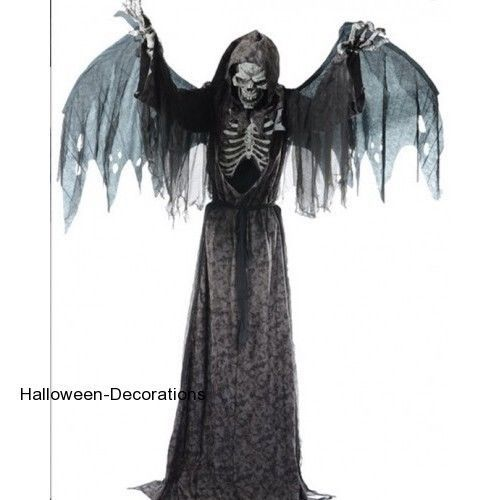 halloween haunted house prop annimated 76 angel of death halloween decorations