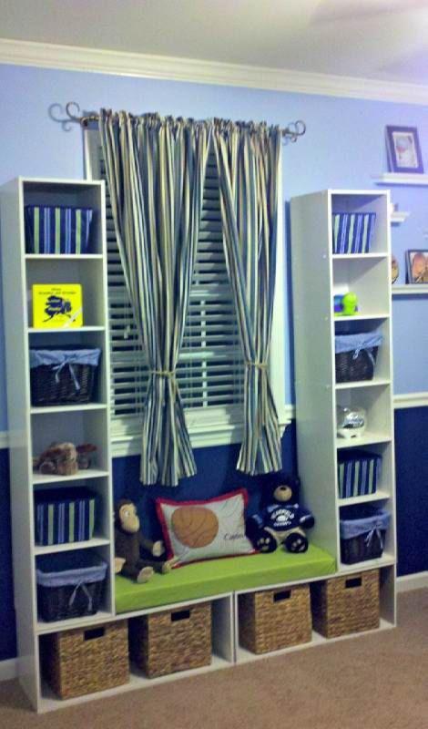 Die Selbermachideen sind endlos... Zu der Verwendung eines IKEA Kallax... 12 Kinderzimmerideen! - DIY Bastelideen