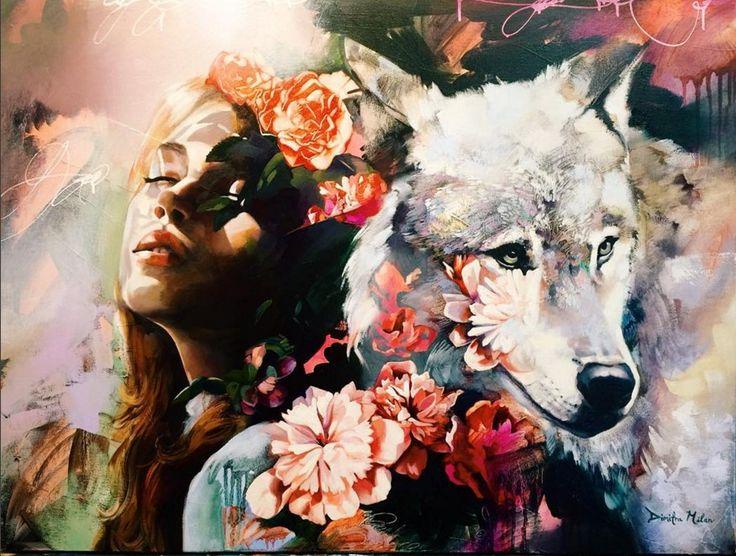 Varázslatos festmények egy 16 éves lánytól, aki a legvadabb álmait festi le