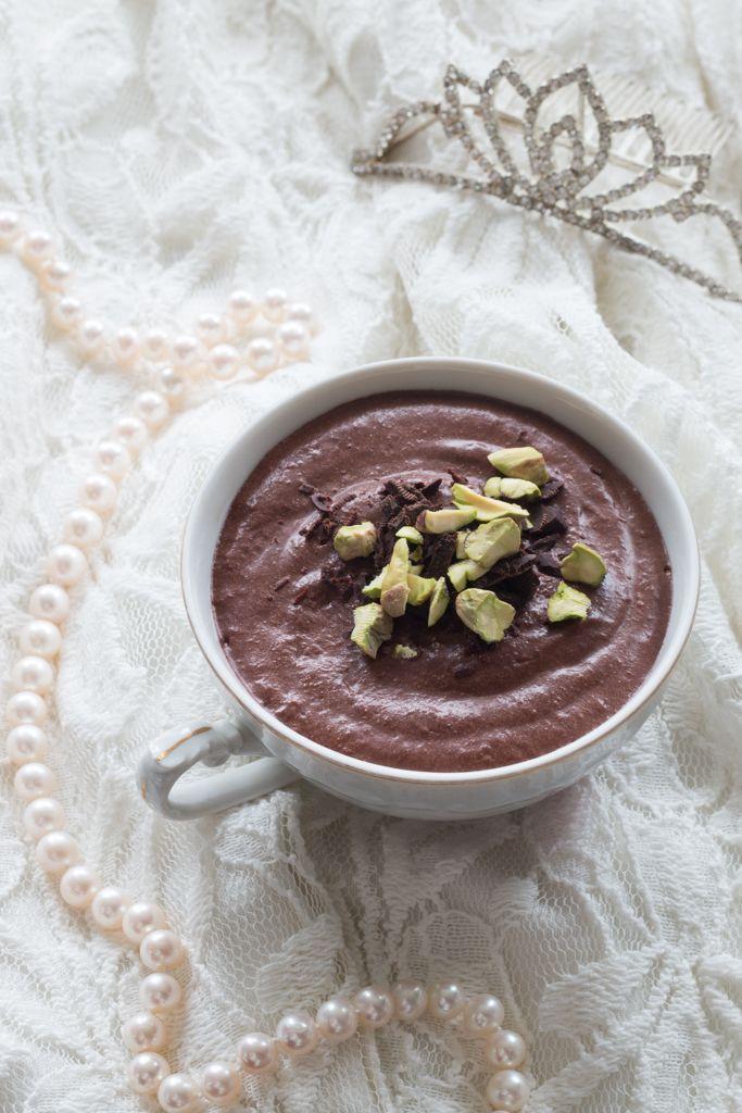 Lehká čokoládová pěna (Mousse au chocolat)