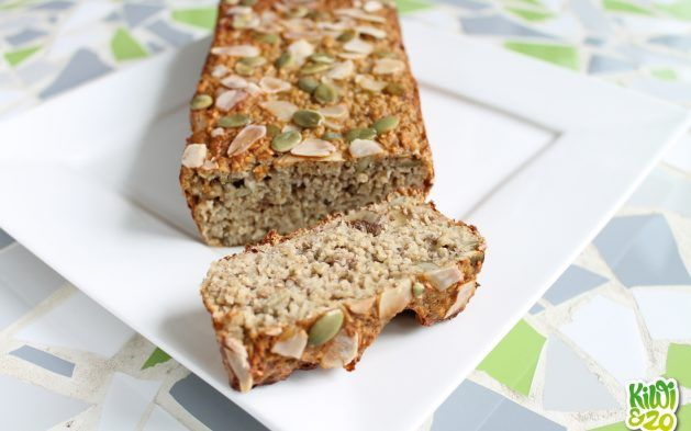 Simpel gezond bananenbrood