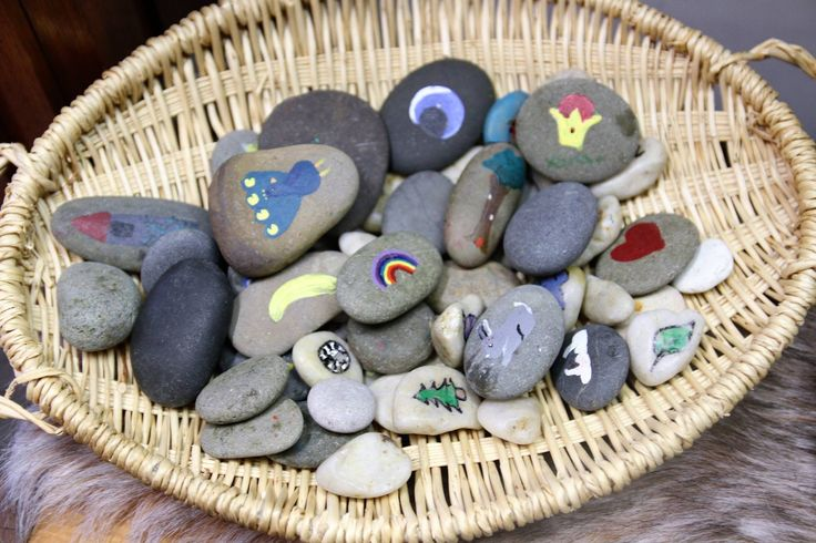 Story stones at Little Ones FDC