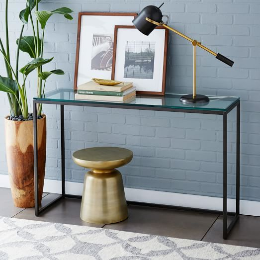 "$299 48"" Box Frame Console - Glass 