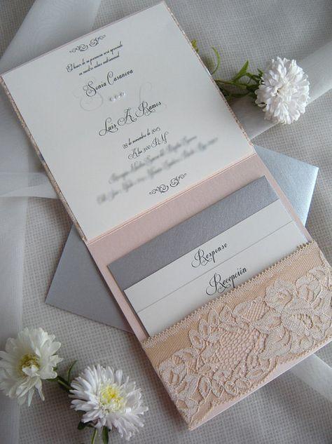 Boda rústica invitación invitación de la boda de por JRTDaisy