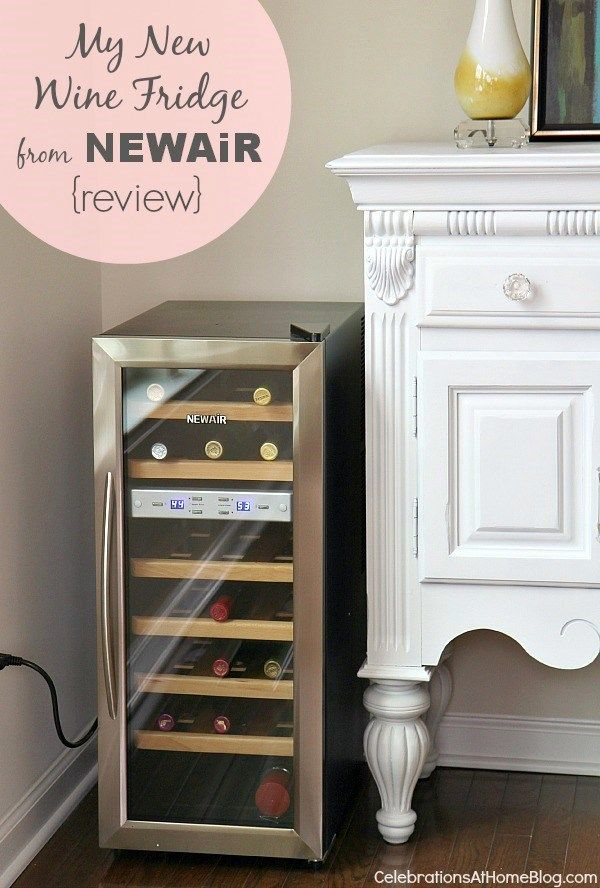 MY NEW WINE FRIDGE FROM NEWAIR {review}Fun Room, Future Dwell, Ryan Office'S Gameroom, Ryan Offices Gameroom, Construction Parties, Newair Reviews, Favorite Products, Kitchens Ideas, Big Fans
