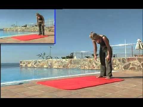 Pilates Parte 2 - Sin aparatos - Español de España - YouTube