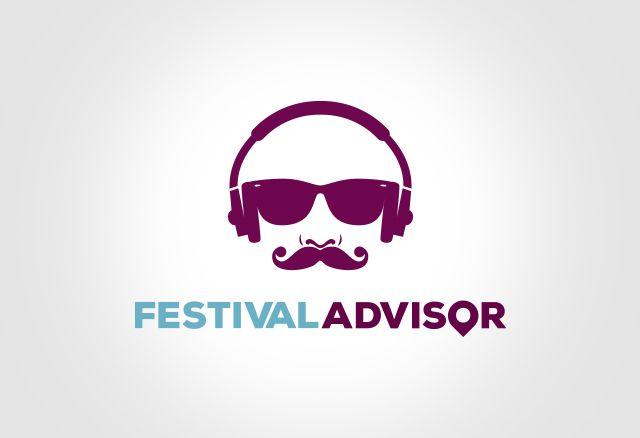 Festival Advisor logo design