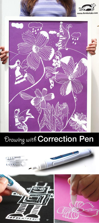 Correction Pen Art