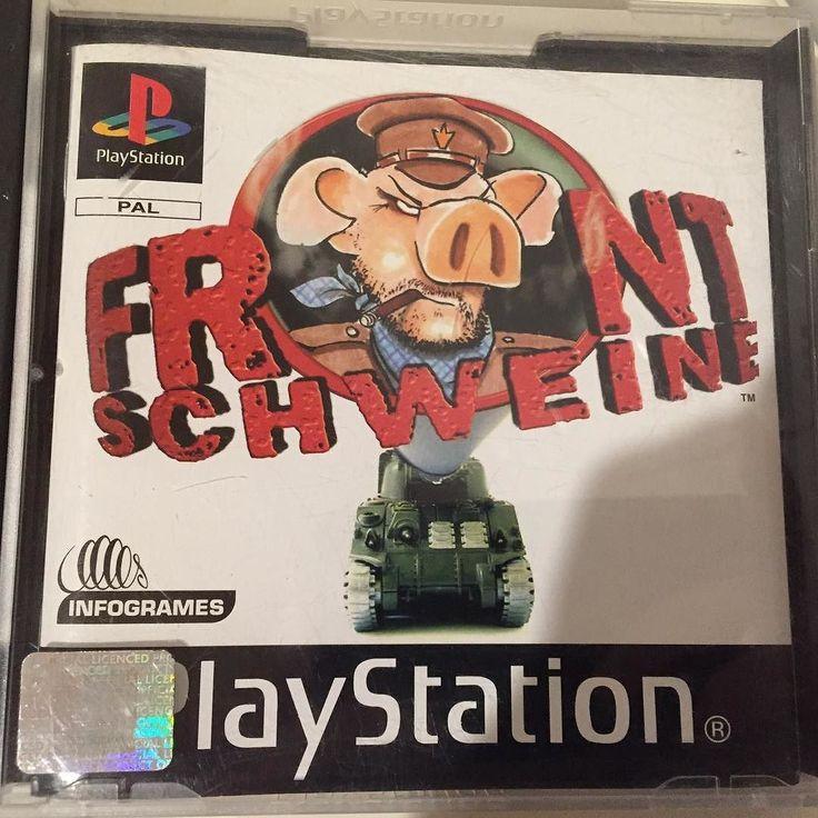 On instagram by big7mic #retrogaming #microhobbit (o) http://ift.tt/1ROCB1m #retrogames  #playstation #ps1 #psone #deutsch #gamer #games #gaming #german #collector #collection #big7mic #bigmic7 #frontschwein #frontschweine #hogsofwar