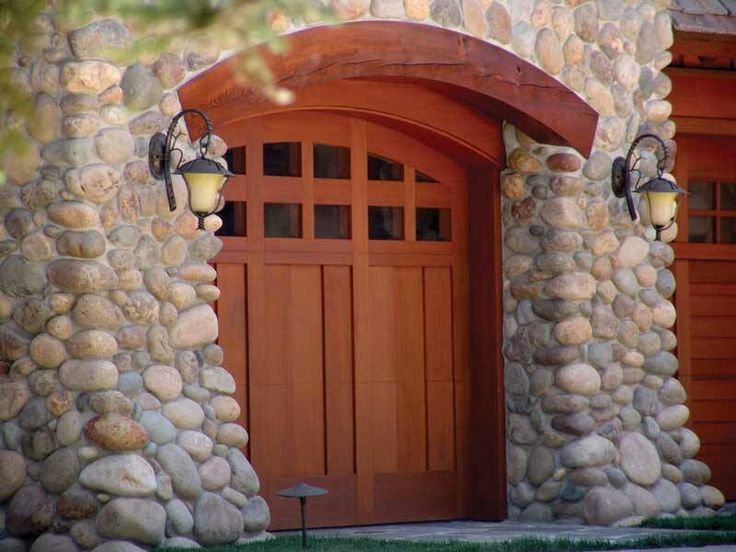 Wood Garage Doors With Windows 96 best wood garage doors images on pinterest | carriage house