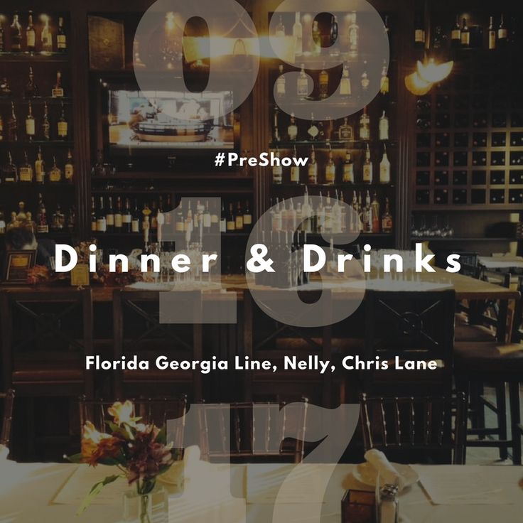 Florida Georgia Line   Nelly   Chris Lane   Amazing Italian Cuisine   Tasty Drinks = Awesome Night! Reservations recommended https://www.opentable.com/r/cucina-venti-mountain-view