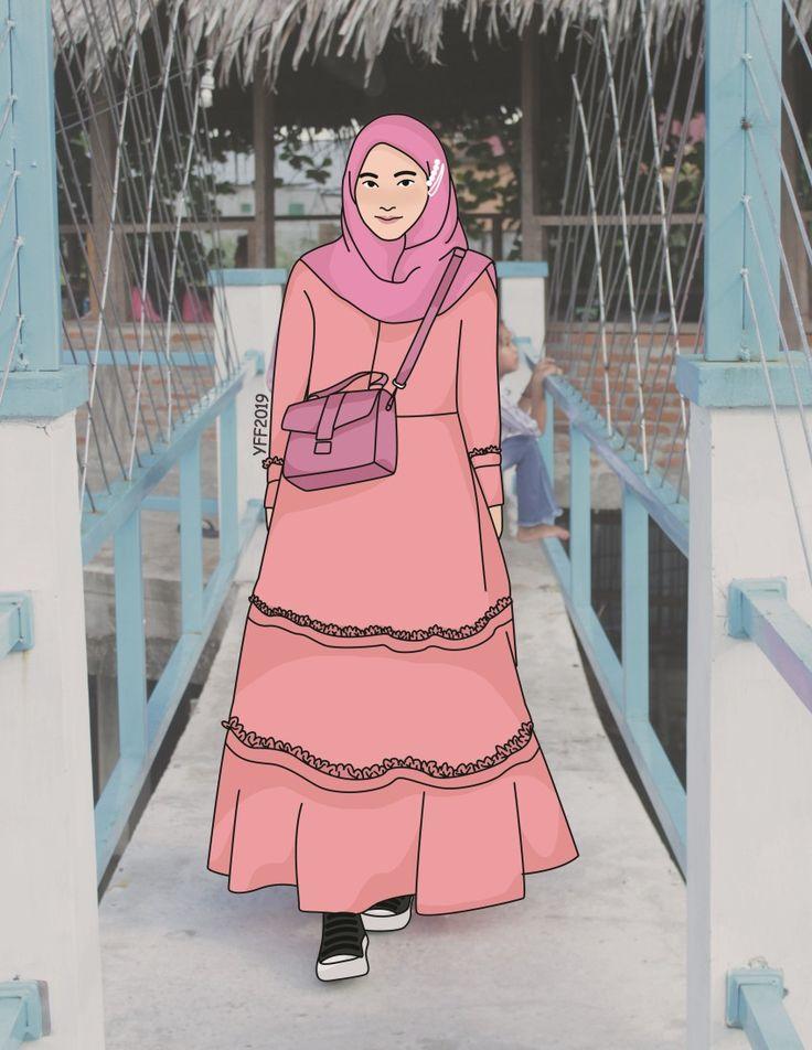 14 bertopi gambar kartun keren perempuan tomboy in 2020 anime. Pin by nitayana on hijab kartun   Illustration, Drawing ...