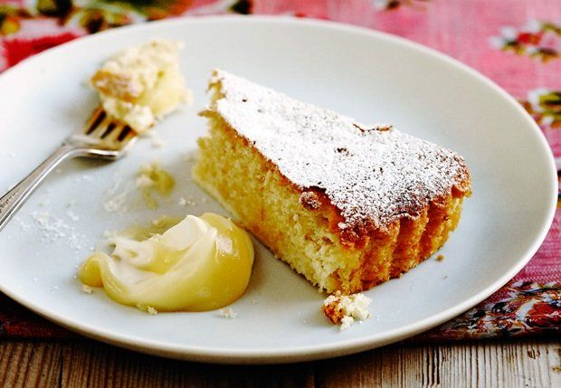 Saftig Italiensk Sitronkake - a Sophie Dahl recipe -  Italian LemonCake - glutenfree, using almond/potatoflour(starch)
