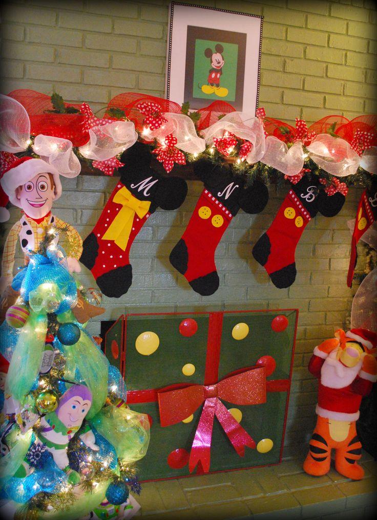 129 best Disney Christmas/Village images on Pinterest | Christmas ...