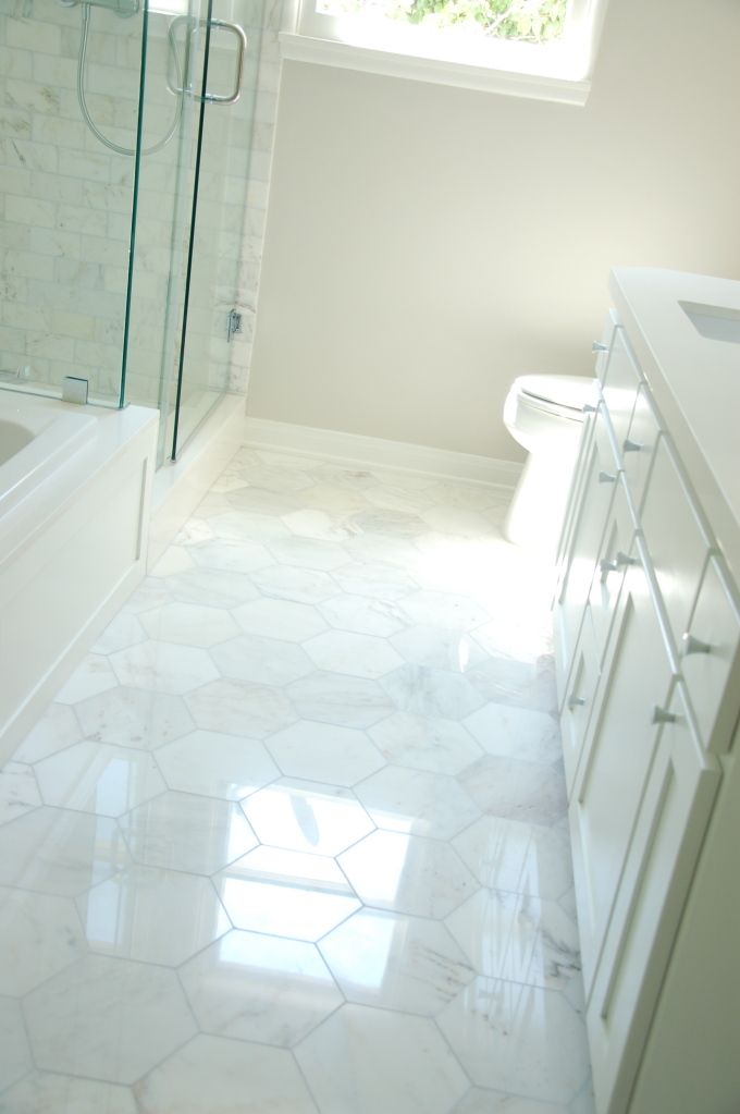 Mazzywest 39 s image on pinterest discover the best - Is marble tile good for bathroom ...