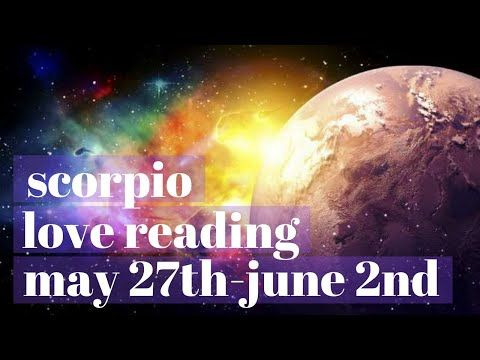 "SCORPIO ""A MAJOR COMMITMENT🔐"" MAY 27-JUNE 2 WEEKLY LOVE/GENERAL"