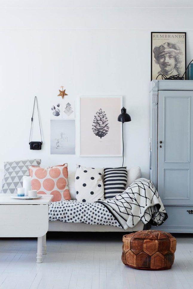 Une maison faite de récup en Norvège #livingroom