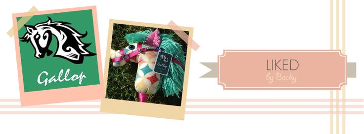 Beautifully handmade Hobby Horses, sparking creative & imaginative play in children!