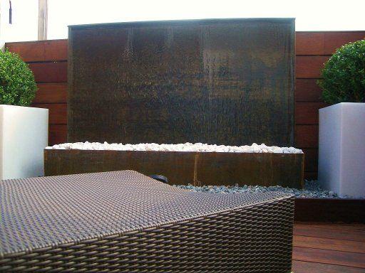 Las 25 mejores ideas sobre peque as fuentes de agua en - Fuentes para terrazas pequenas ...