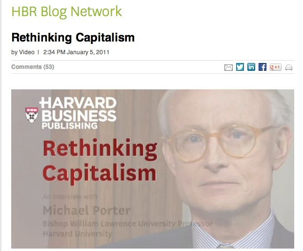 "Economical Value has long driven our society, often at the expense of communities and people's quality of life... Profit as such is not by default good for society - but the other way round: ""What is good for Society is good for Business"" sais Michael Porter. http://blogs.hbr.org/video/2011/01/rethinking-capitalism.html"