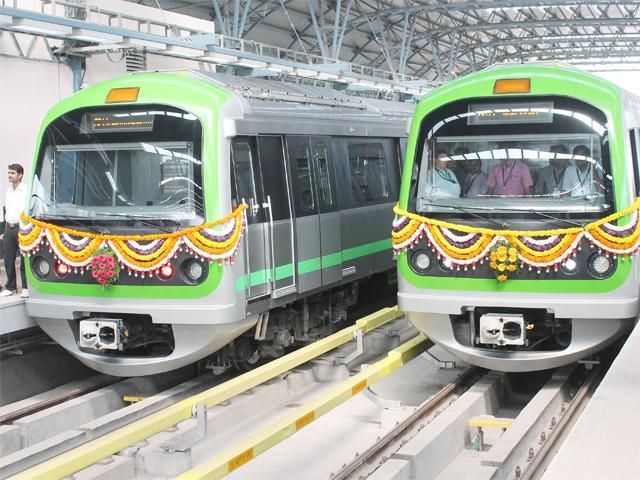 Slideshow : Namma Metro's Peenya Industry-Nagasandra stretch - Namma Metro's Peenya Industry-Nagasandra stretch inaugurated - The Economic Times