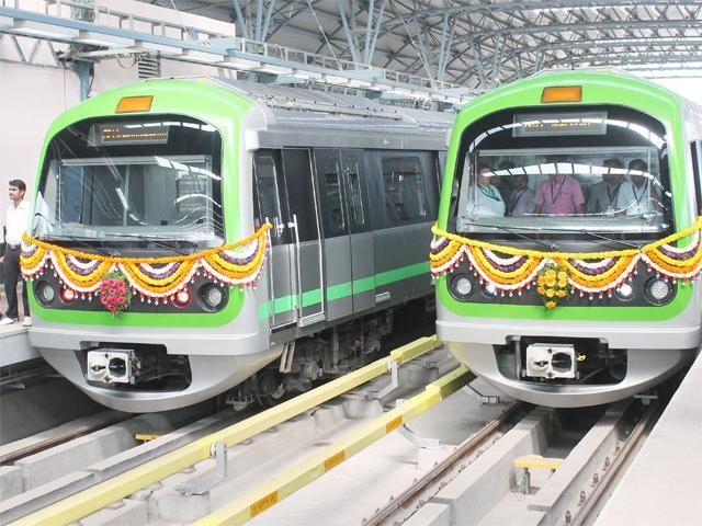 Slideshow : Namma Metro's Peenya Industry-Nagasandra stretch - Namma Metro's Peenya Industry-Nagasandra stretch inaugurated - The Economic Times