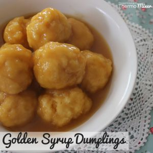 Golden Syrup Dumplings – The Road to Loving My Thermo Mixer