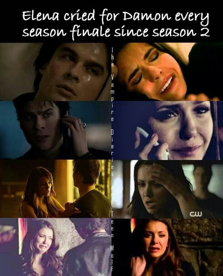 Yet the writers for the series never took their relationship as seriously as the did Stefan and Elena. GRRR.