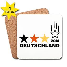 Der vierte Stern fällt für Deutschland. Im Endspiel der Fußball-WM 2014 in Brasilien wird der 4. Stern für Deutschland fallen.