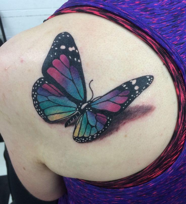 17+ Idéer Om 3d Butterfly Tattoo På Pinterest