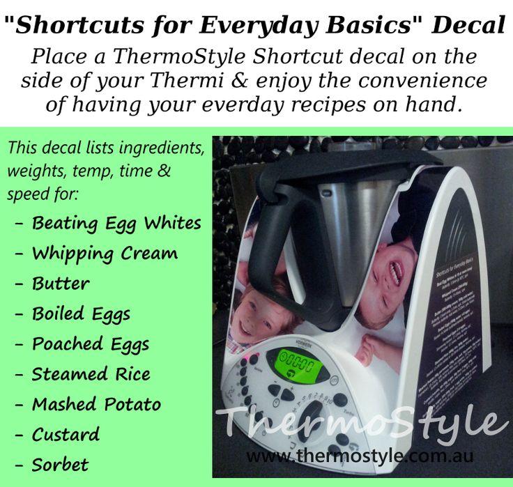 Fantastic idea!!! Shortcuts for Everyday Basics