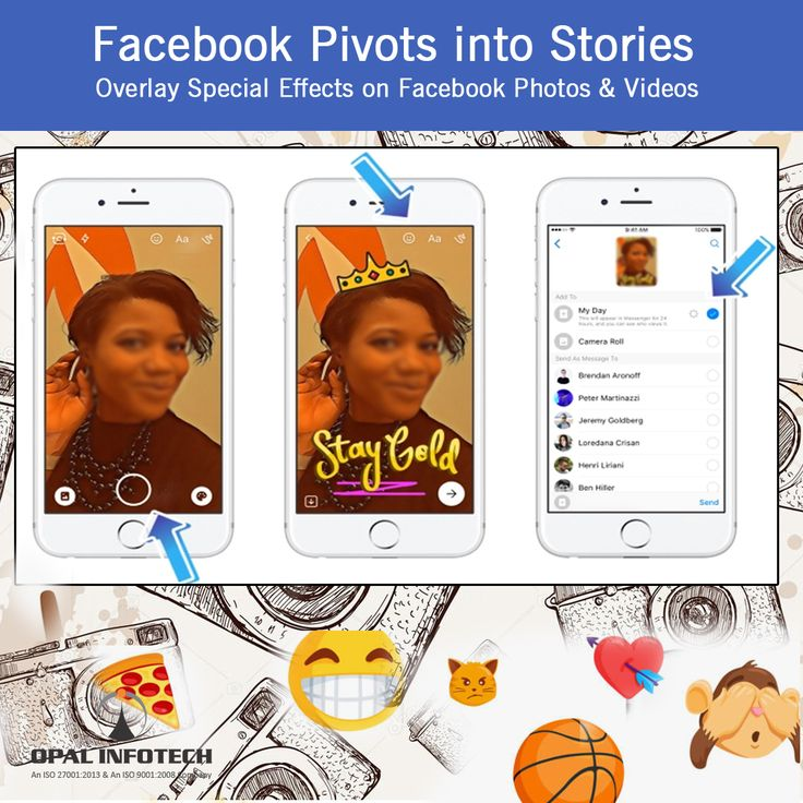 All users have access to the new Facebook Camera feature that lets them overlay special effects on photos and videos. They can then share this content to a #Snapchat clone called Facebook Stories that appears above News Feed on mobile and works similarly to #Instagram's 24-hour ephemeral slideshows. To know more, visit at http://www.webmasterindia.com/contact-us/ or mail us on biz@webmasterindia.com   #OpalInfotech #Facebook #FacebookFeatures