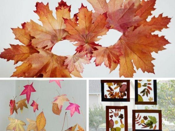 9 idee di gioco con le foglie autunnali