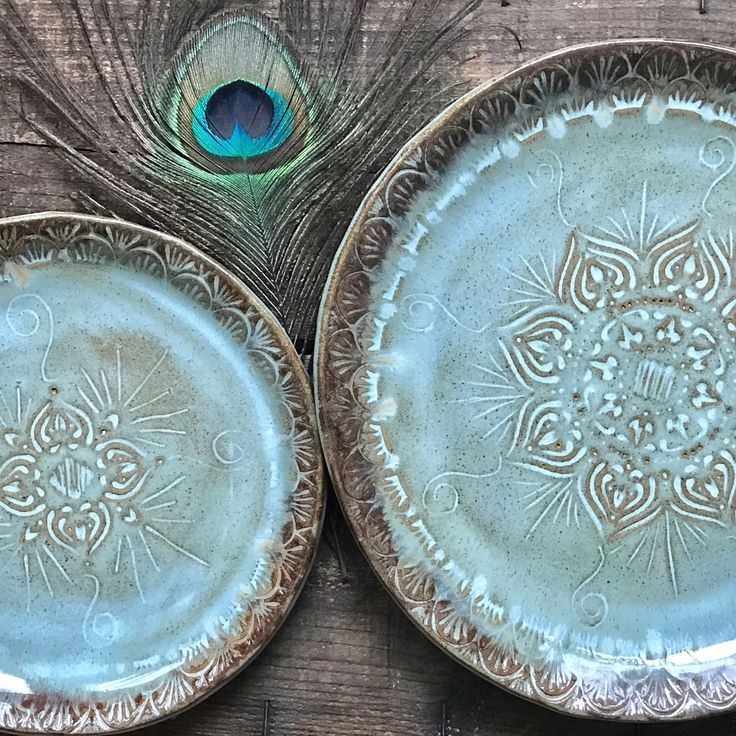 Now offering custom made plates sold individually ...and as sets. Just want dinner plates? No problem. Just sandwich plates? No problem. Or need both to match? That's no problem either. Custom build your kitchen to suit your needs. It's fun & easy!