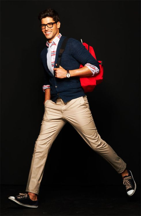 Back to School!  #cardigan #backpack #fashion