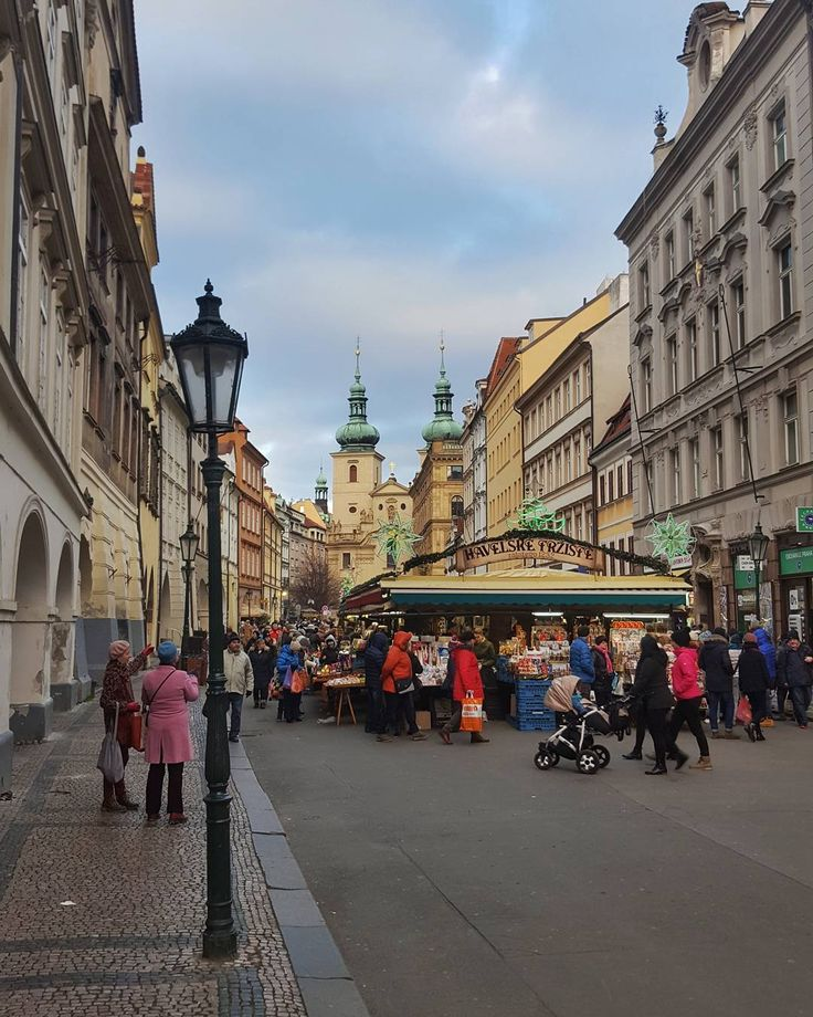 Havelská Street Market in Prague  #prague #travel #afternoon #havelska #street #market #christmas #streetphotography #galaxys6