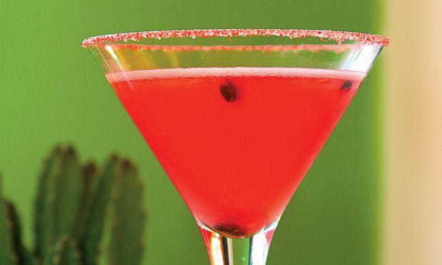 Bebida: Margarita de Melancia.
