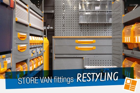 StoreVan Fittings Restyling