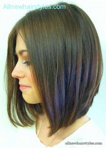 Medium layered bob haircuts 2015