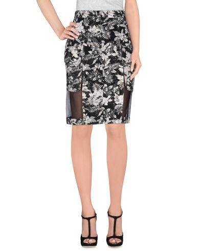 ALEXANDER WANG Knee Length Skirt. #alexanderwang #cloth #dress #top #skirt #pant #coat #jacket #jecket #beachwear #